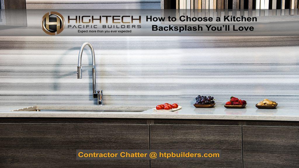 Choosing the Perfect Kitchen Backsplash