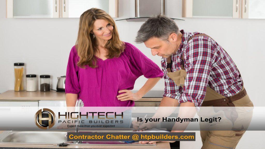 A Legit Handyman?