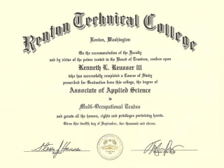 Associate of Applied Science in Multi-Occupational Trades