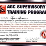 AGC-Sponsored Supervisory Training Program