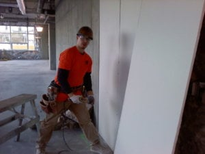Our commercial remodeling team is always hard at work