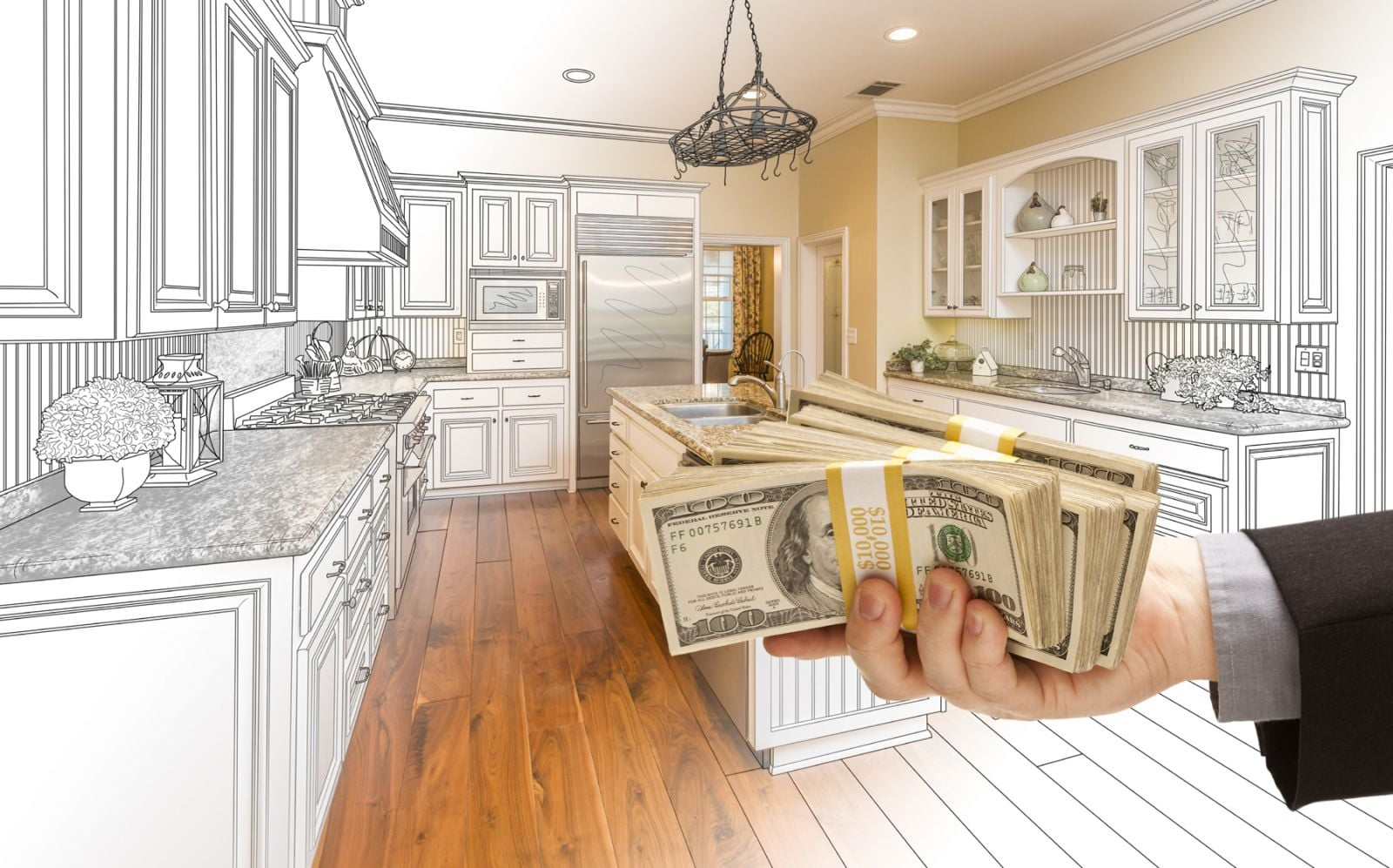 How much does it cost to remodel a kitchen high tech for How to remodel a kitchen