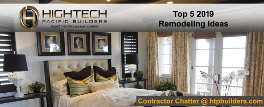 Top 5 2019 Remodeling Ideas
