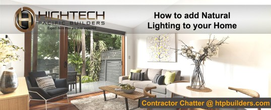 How to Add Natural Lighting to Your Home