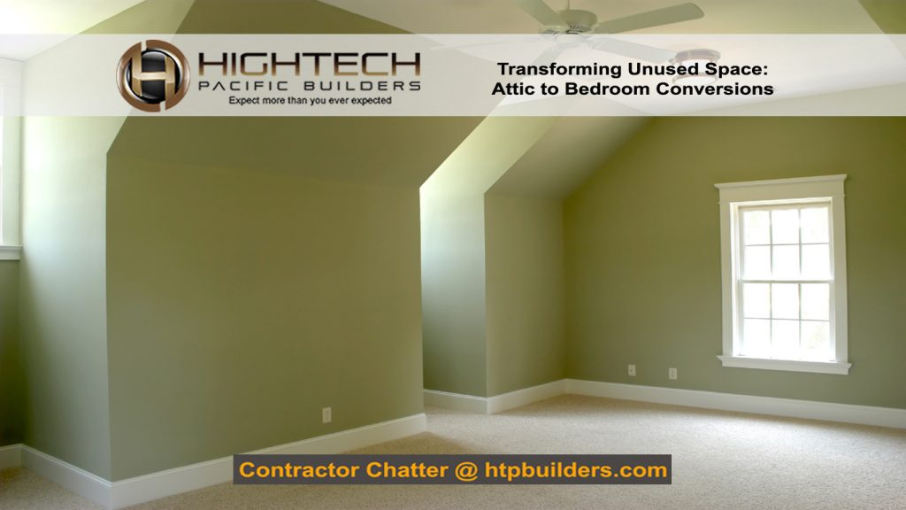 Transforming Attic to Bedroom