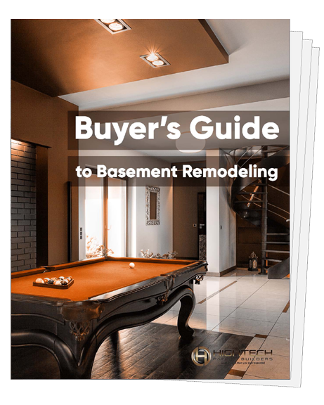 Basement Remodel Buyers Guide Graphic
