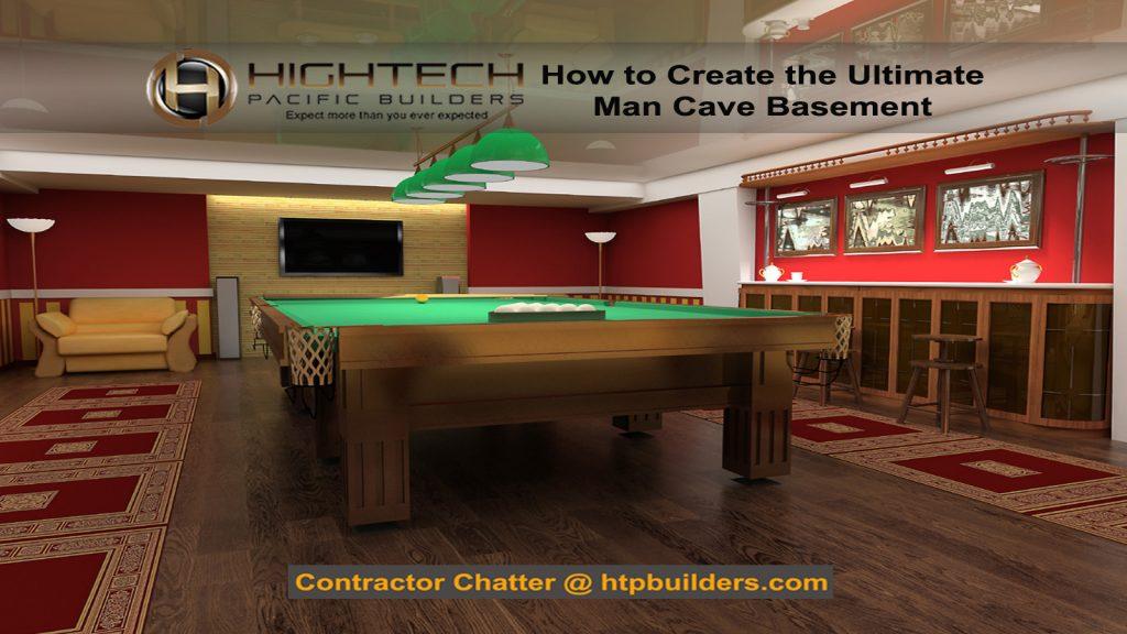Basement Man Cave