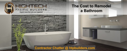 The Cost to Remodel a Bathroom