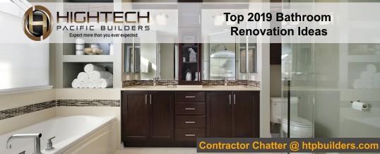 Top 2019 Bathroom Renovation Ideas