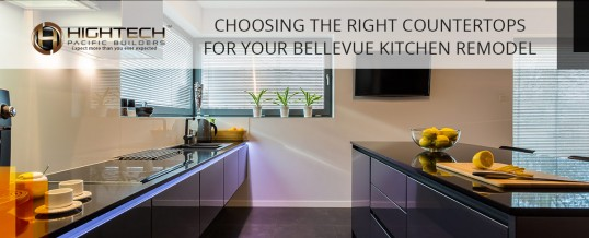 Choosing The Right Countertops For Your Bellevue Kitchen Remodel