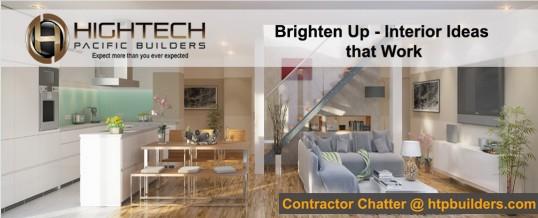 Brighten Up – Interior Lighting Ideas that Work