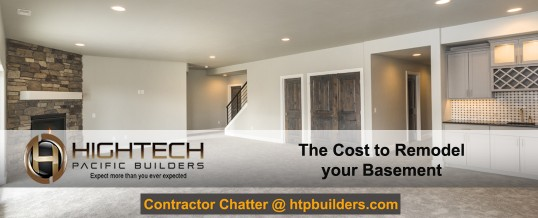 The Cost to Remodel a Basement