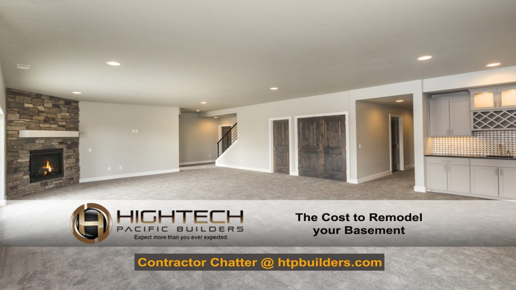 Cost to Remodel a Basement