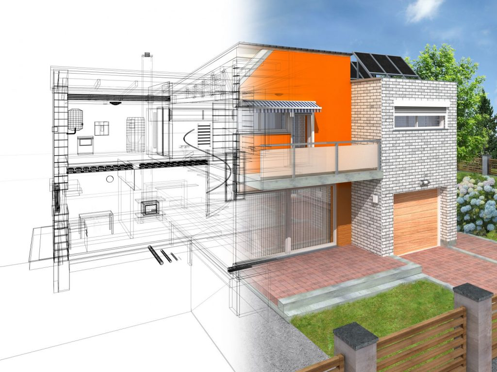 drawing for a design build construction project