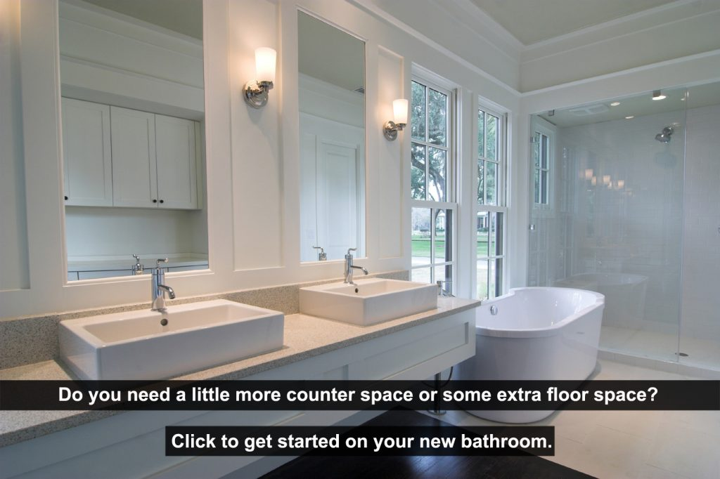 Get your new vanity or brand new bathroom