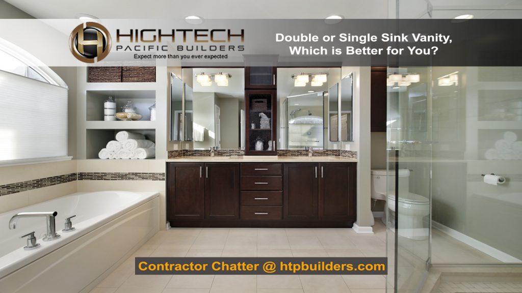 Double or single sink vanity
