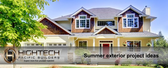 Summer time exterior project ideas