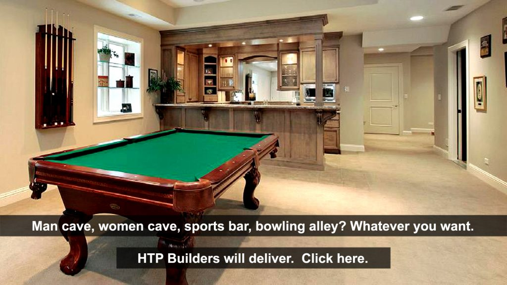 Your new finished basement