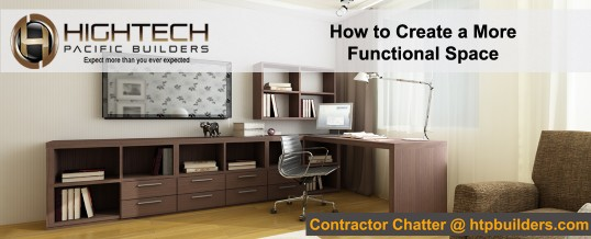 How to Create a More Functional Space.