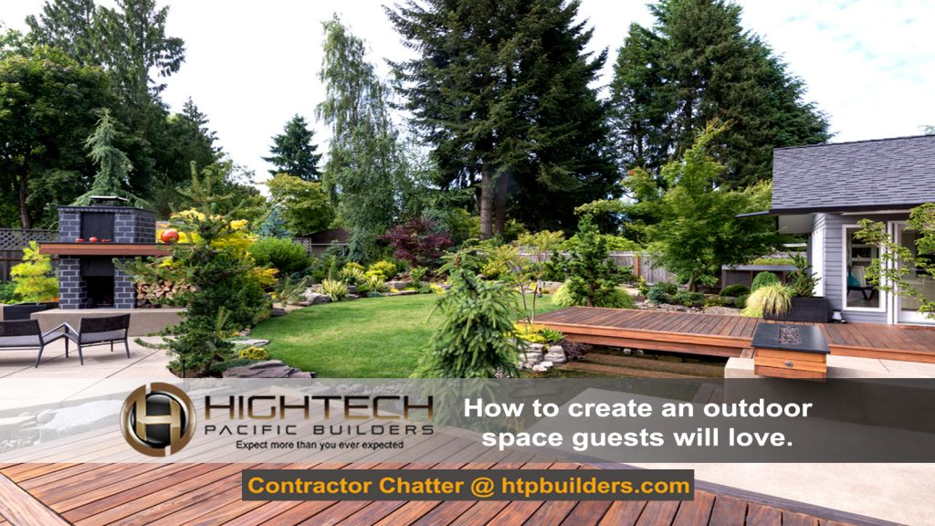 How to create an outdoor space