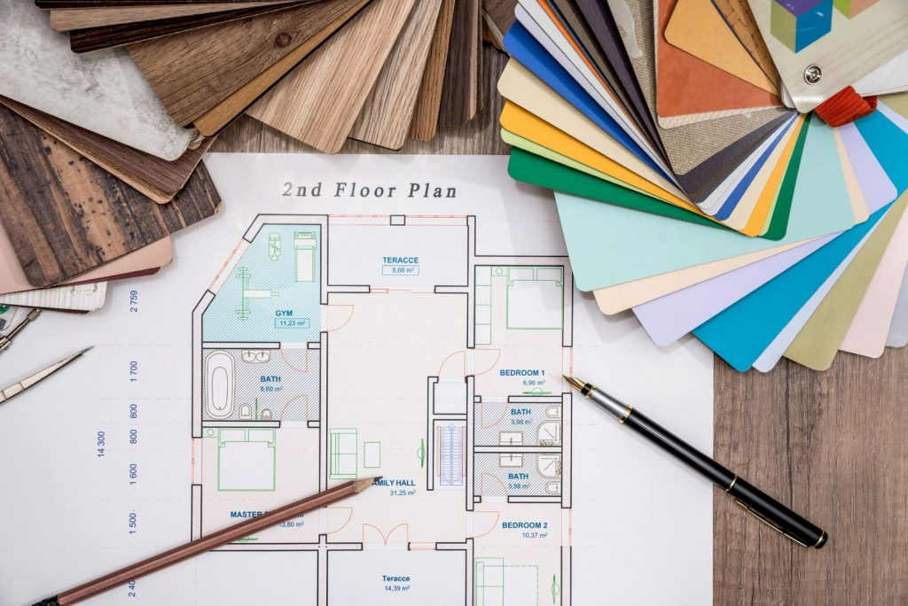 Interior Design Floor Plan Layout