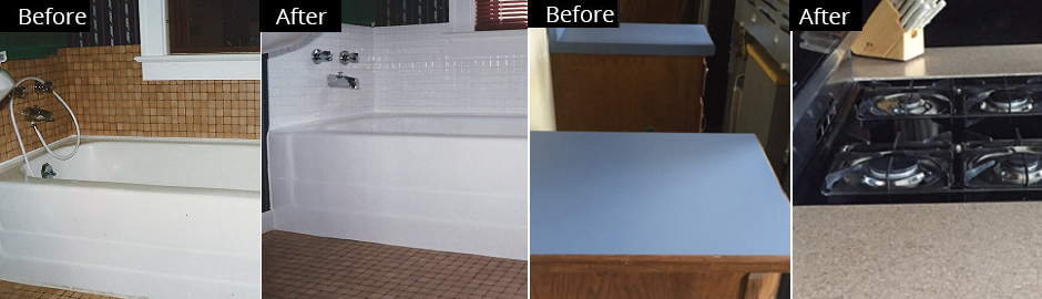 Kitchen and bath economical choices - Glazing and refinishing