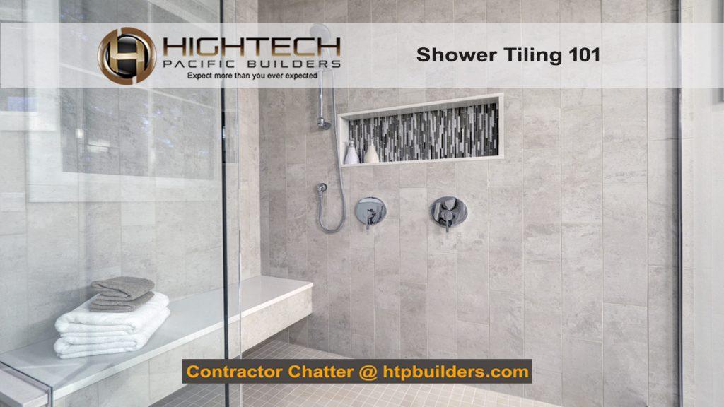 Shower Tiling Installation