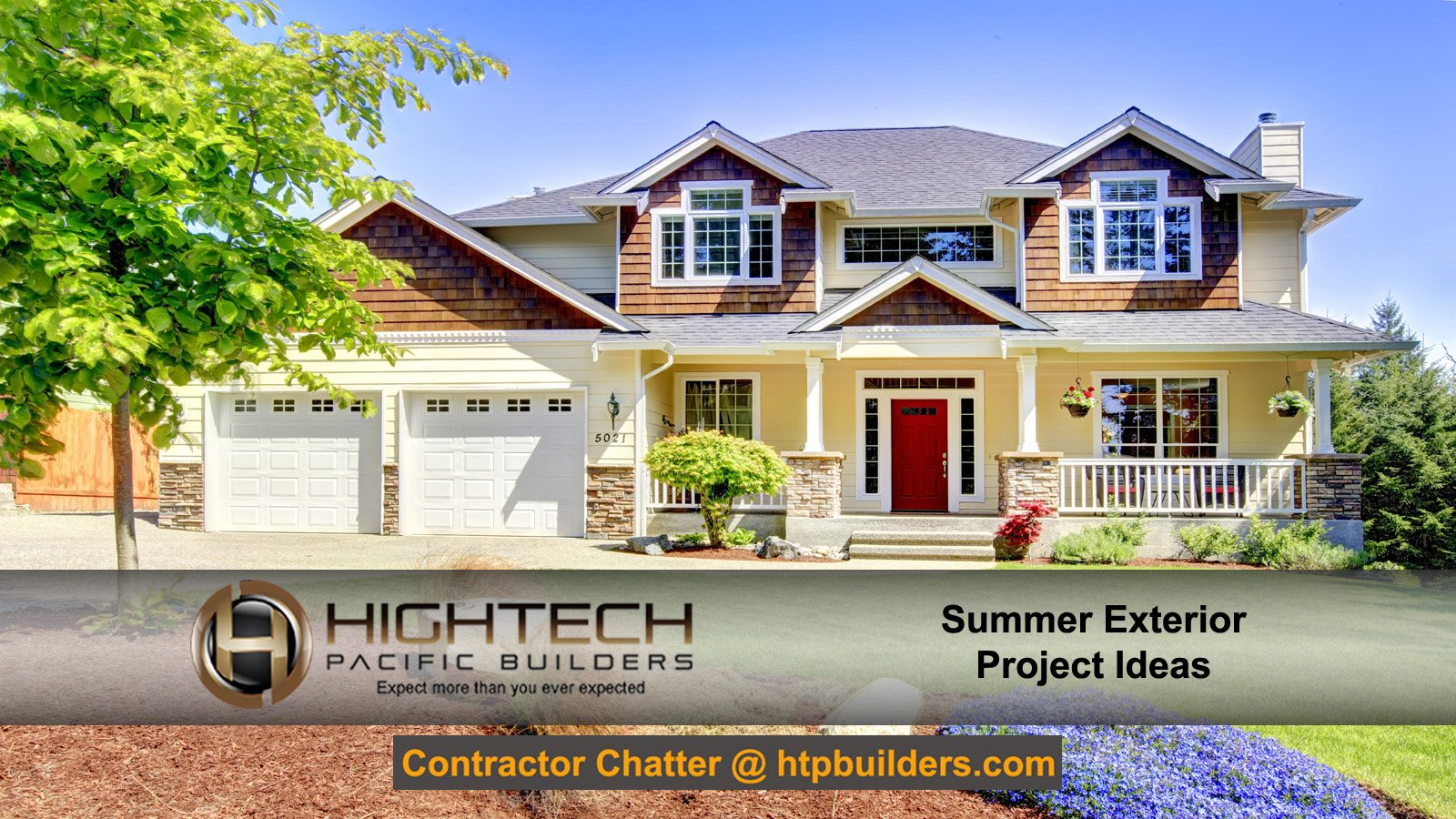 Summer exterior project ideas