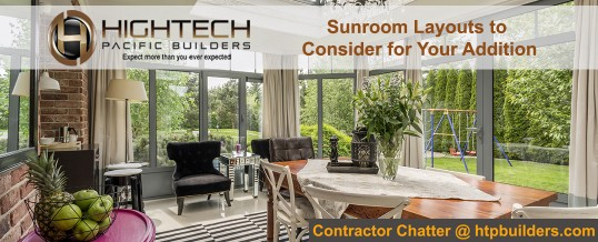 Sunroom Layouts to Consider for Your Addition