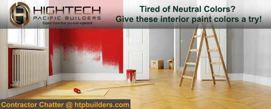 Tired of Neutral Colors? Give These Interior Paint Colors a Try!