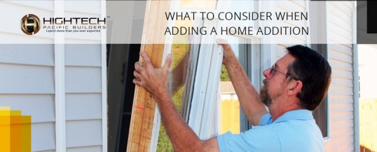 What To Consider When Adding A Home Addition